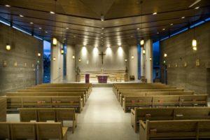 Empty Church Sanctuary